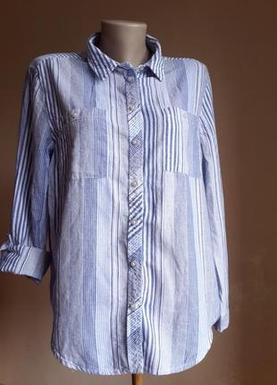 Стильная блуза хлопок primark британия