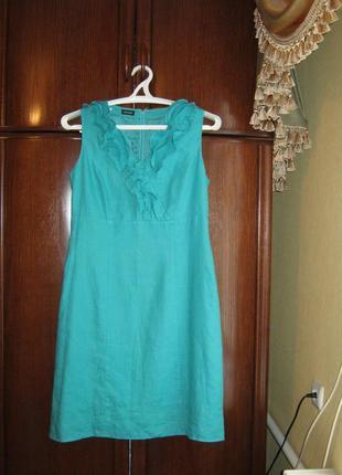 Платье gerry weber, 100% лен, размер 40