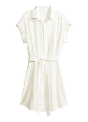Платье рубаха от h&m вискоза