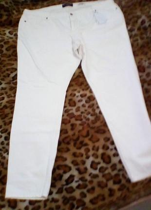Крутые рваные джинсы большого размера mango violeta