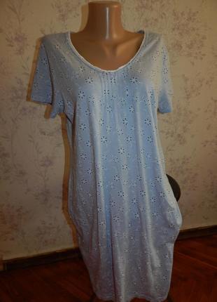 Marks&spencer ночнушка, домашнее платьеце р14