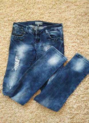 Рваные джинсы!