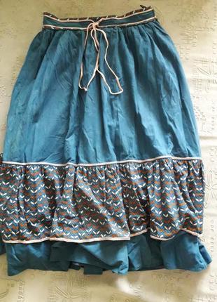 Юбка, юбка миди