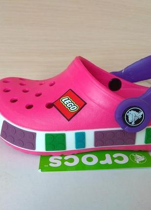 Детская модель crocs lego кроксы лего