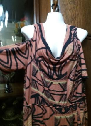 Платье -next-с открытыми плечами- 18р  1+1=3
