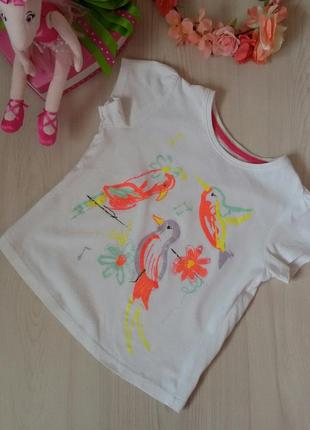 Яркая легенькая футболка young dimension девочке