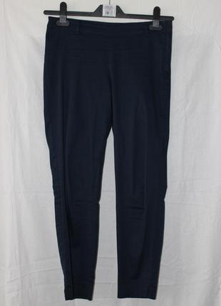 Темно-синие штаны oggi