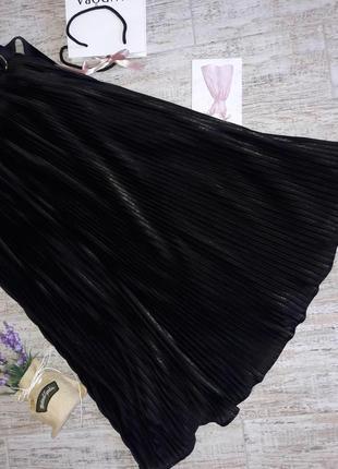 Новая летняя юбка в пол плисе2