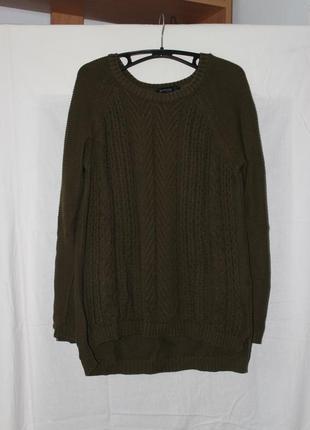 Оливковый свитер stradivarius