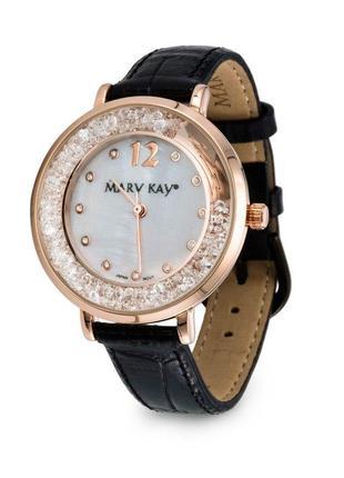 Годинник часы fashion в кристалах мери кей, mary kay