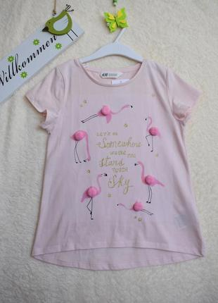 Модная футболочка для стильных девочек.