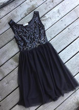 Платье с паетками1 фото