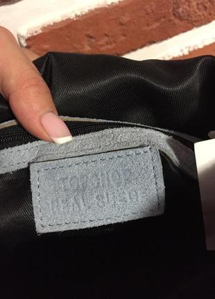 Замшевая сумочка2 фото