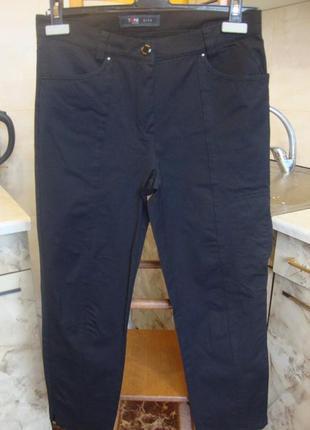 Штаны брюки черные toni dress 36 s/m 47%котон, 46%полиам/нейлон, 7%эластан