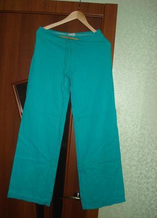 Брюки (штаны) jhiva жива льняные, размер s, размер 34-36 без нюансов, в хорошем состоянии.