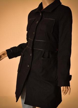 Denny rose шикарное шерстяное пальто