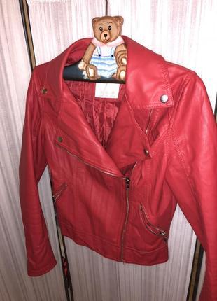 Шкіряна куртка 450 грн