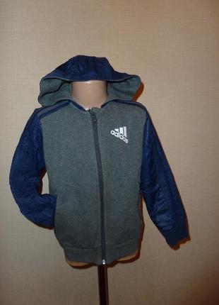 Куртка, ветровка, толстовка, бомбер adidas на 6-7 лет