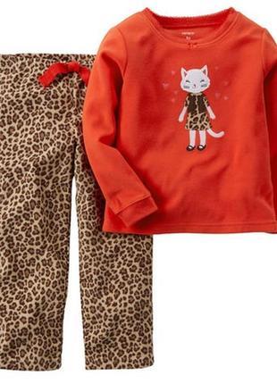 Классная пижама с кошечкой carter´s на девочку