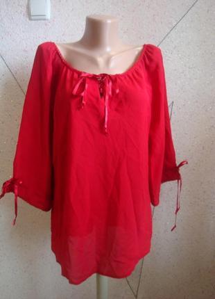 Новая с биркой блуза накидка. размер 16-18