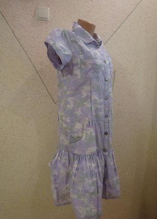 Распродажа!!!модное платье - рубашка с баской. размер 10-141