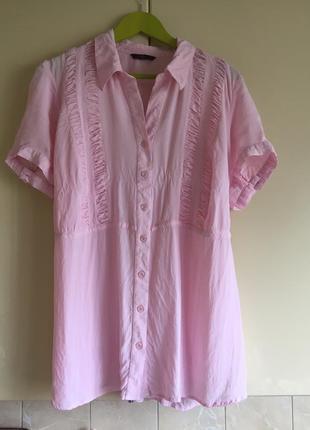 Вискозная блуза большой размер evans