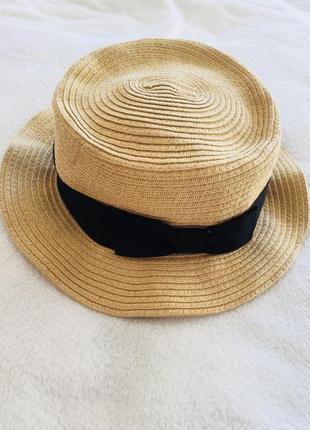Соломенная шляпа bershka. must have этого лета