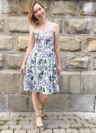 Літнє плаття на бретельках mohito