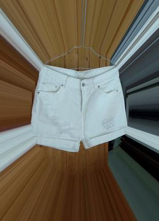 Крутейшие белые шорты mango