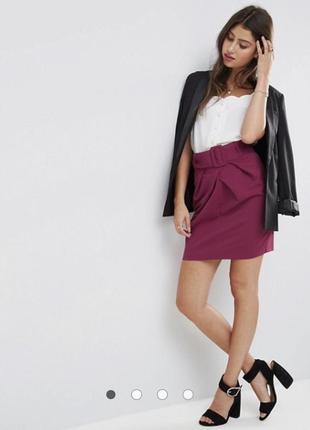Мини юбка с поясом от asos