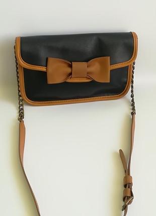 Отличная кожаная сумка mellow yellow