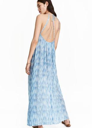 Платье-макси h&m арт 0389015