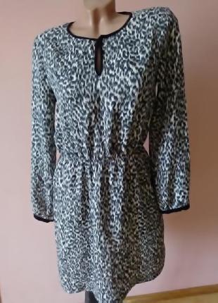 Платье zara basic m-l