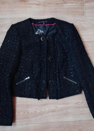 Снизила цену  marks and spencer новый теплый пиджак- жакет