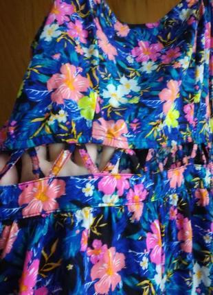 Сарафан, платье летнее - s