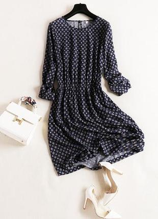 Платье хлопковое zolla