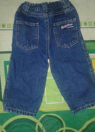 Классическае синие джинсы early days для мальчика 1 год