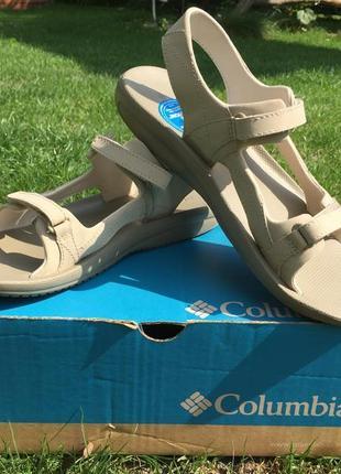 Удобные супермягкие сандалии columbia для активного отдыха