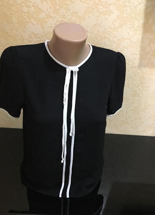 Вискозная блуза zara рs