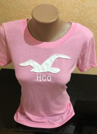 Крутая футболка hollister рm