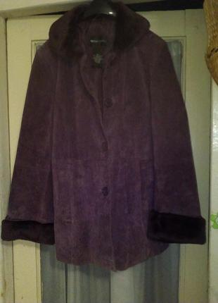 Замшевая куртка bethterrel