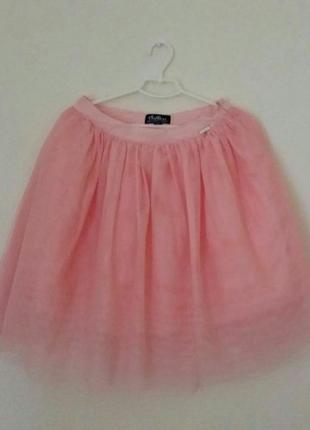 Юбка-пачка бледно-розового цвета из cropp