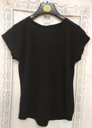 Стильная блуза футболка с красивой спинкой river island на 7-8 лет