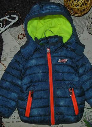 1,5года(86см)яркая куртка vingino.мега выбор обуви и одежды