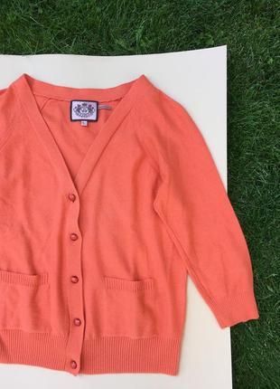 Персиковый кардиган juicy couture