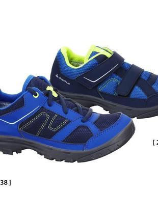 Треккинговые кроссовки quechua decathlon, р. 23-24