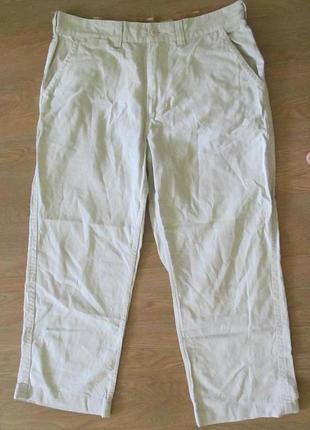 Льняные брюки штаны timberland