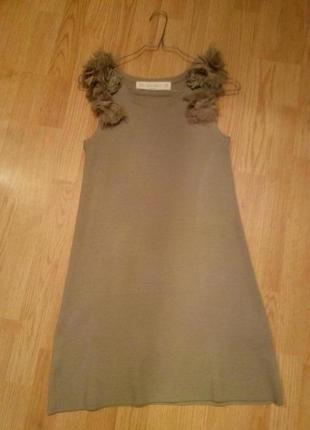 Чудесное вязаное платье zara