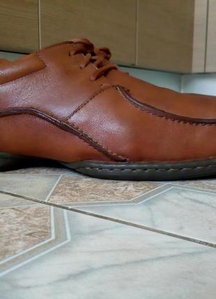 Кожаные мужские туфли clarks