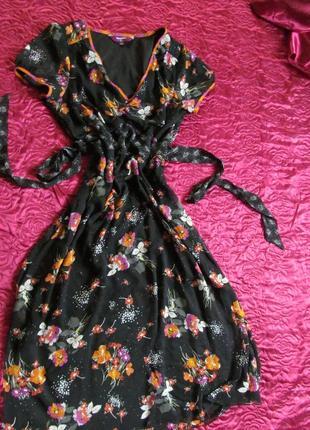 Шикарное легкое платье на подкладке